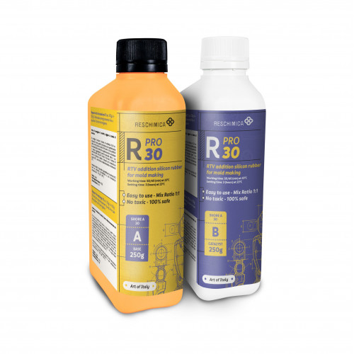 Rubber R Pro 30 for high hardness professional molds | Reschimica